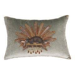 B. Viz Design Antique Textile Pillow