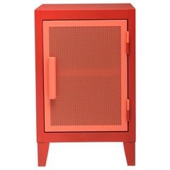 B1 H64 Perforated Mini Steel Locker in Essential Colors by Tolix