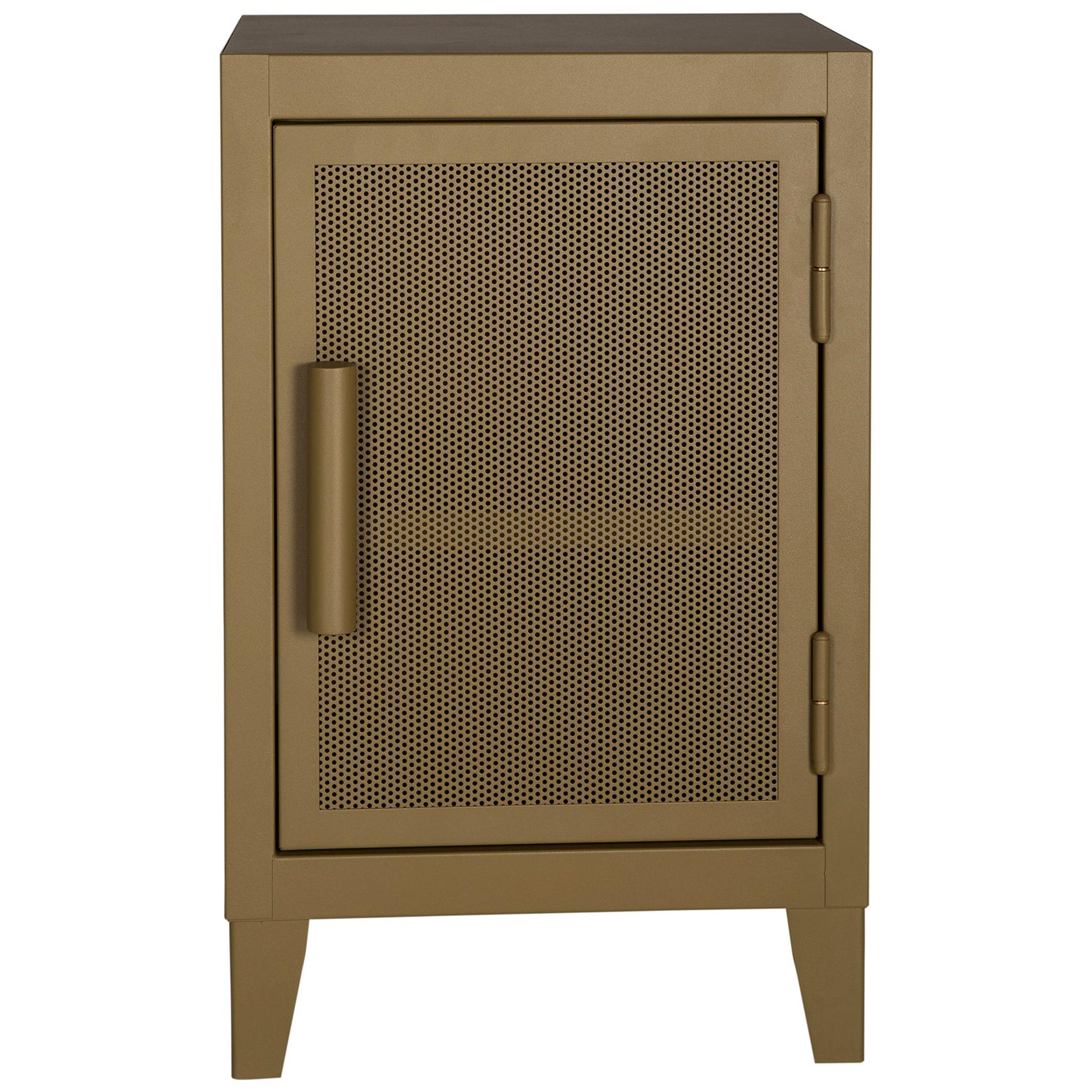 B1 H64 Perforated Mini Steel Locker in Pop Colors by Tolix
