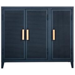 B3 Perforated Low Locker in Midnight Blue by Chantal Andriot and Tolix, US