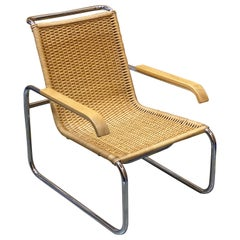B35 Lounge Chair by Marcel Breuer for Thonet