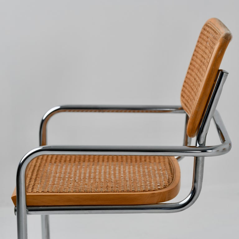 B64 Variant Gavina Marcel Breuer Made in Italy, 1970s In Good Condition For Sale In everton lymington, GB