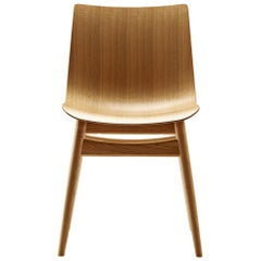 BA001T Preludia Chair in Oak Oil Finish by Brad Ascalon