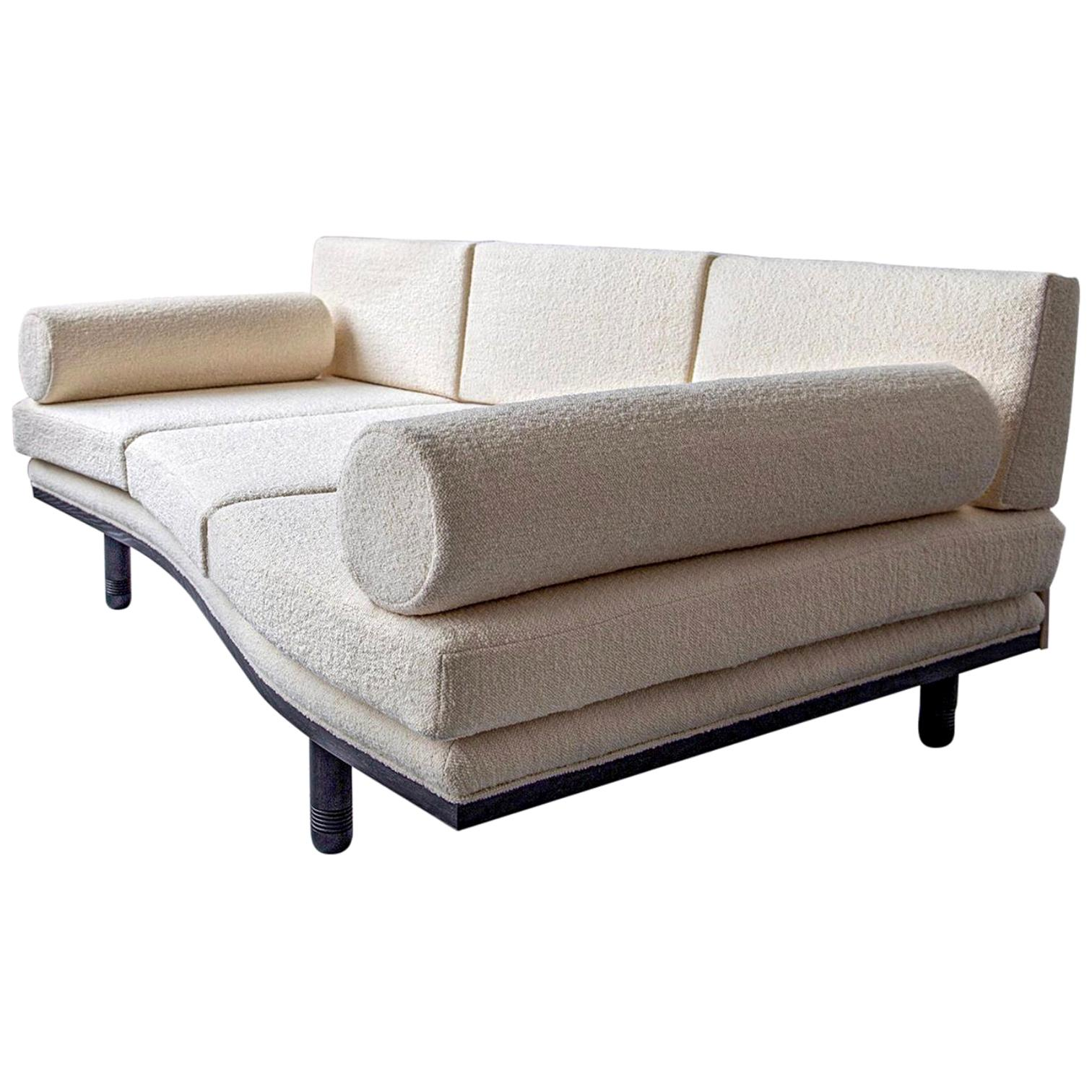 Baalbek, Trapezoidal Sofa Daybed by Toad Gallery, Contemporary Edition, 2020