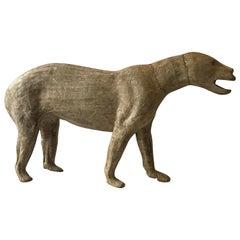 Small Bear Taxidermist Form
