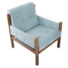 Baby Blue Vintage Armchair, 1960s