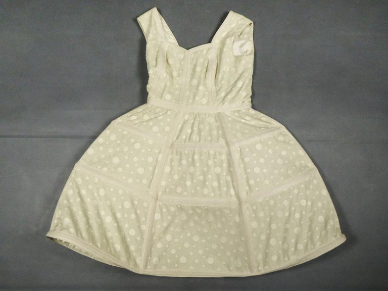 Baby Doll Set Dress Bolero & Pants from Andrée Vizir French House Circa 1980 For Sale 13