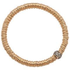 BabyBang Bracelet Cognac Diamonds / Rose Gold
