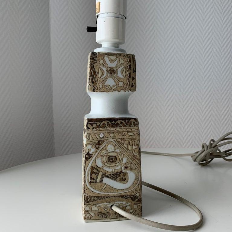 Baca Scandinavian Modern Lamps Royal Copenhagen by Nils Thorsson For Sale 4
