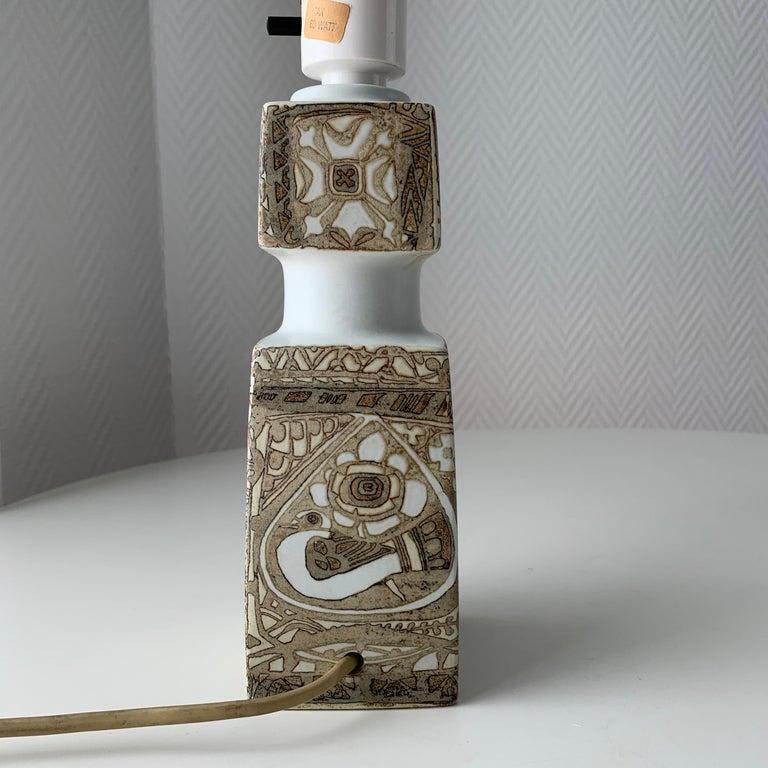 Baca Scandinavian Modern Lamps Royal Copenhagen by Nils Thorsson For Sale 8