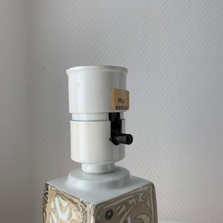 Baca Scandinavian Modern Lamps Royal Copenhagen by Nils Thorsson For Sale 9