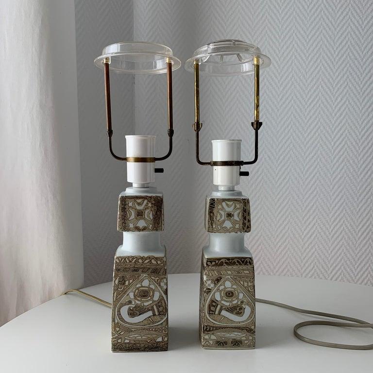 Baca Scandinavian Modern Lamps Royal Copenhagen by Nils Thorsson For Sale 10