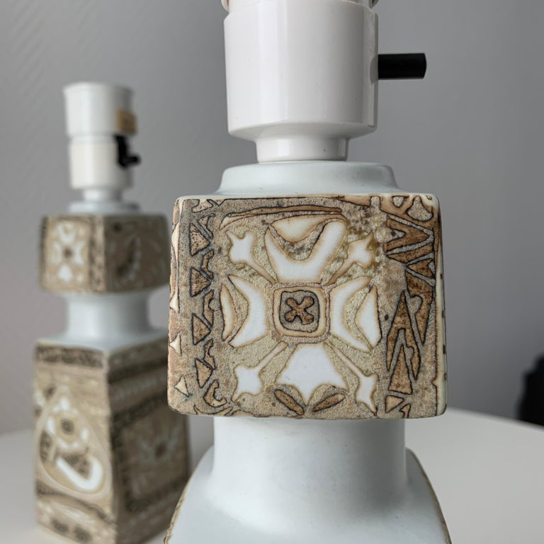 Hand-Crafted Baca Scandinavian Modern Lamps Royal Copenhagen by Nils Thorsson For Sale