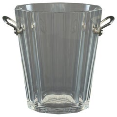 Baccarat Champagne Ice Bucket or Wine Cooler, circa 1980