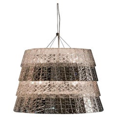 Baccarat Chandelier Frozen Clear Crystal Contemporary Style
