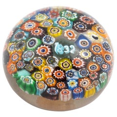 Baccarat Close-Packed Millefiori Paperweights Dated 1832