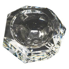 Baccarat Crystal Ashtray