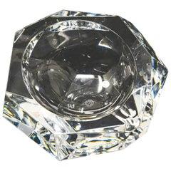 Baccarat Crystal Ashtray