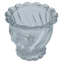 Baccarat Crystal Bambous Tors Swirl Depose