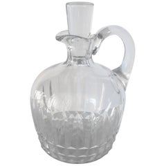 Baccarat Crystal Liquor Decanter Midcentury