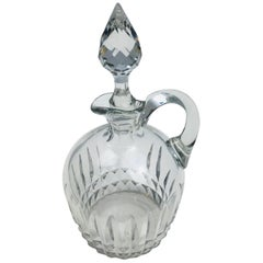 Baccarat Crystal Liquor Decanter or Carafe, Mid-20th Century