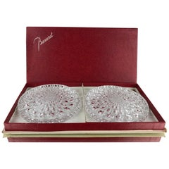 Baccarat Crystal Wine Bottle Coasters