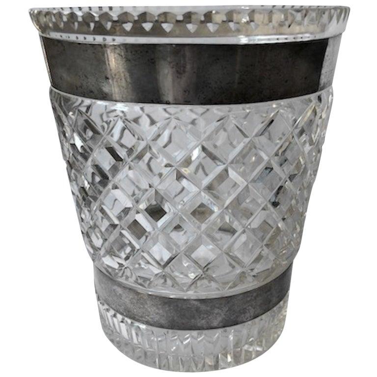 Baccarat Cut Crystal Vase France Circa 1930s At 1stdibs