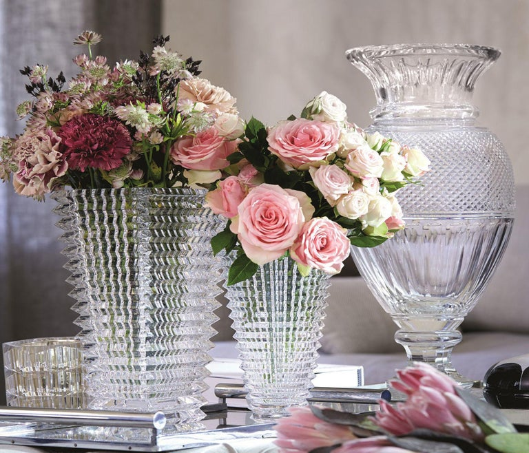 Baccarat Diamant Baluster Vase Thomas Bastide Design For Sale At 1stdibs
