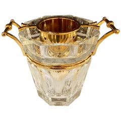 Baccarat France Harcourt Crystal Champagne Bucket / Cooler