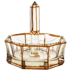 Baccarat French Crystal Ring Holder, circa Early 20th Century