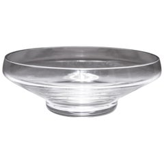 Baccarat French Modern Crystal Bowl