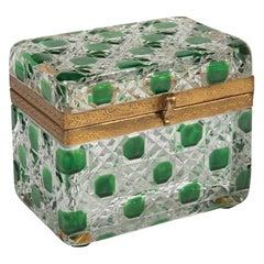 Baccarat Glass Box