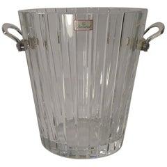 "Baccarat ""Harmonie"" Champagne Bucket or Wine Cooler, circa 1980"