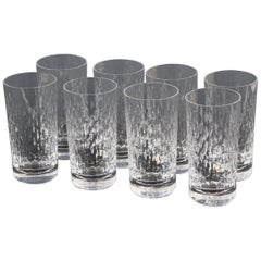 Baccarat 'Paris' Cut Crystal Higball Glass Set