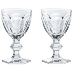 Baccarat Set 2 Clear Crystal Water Glasses