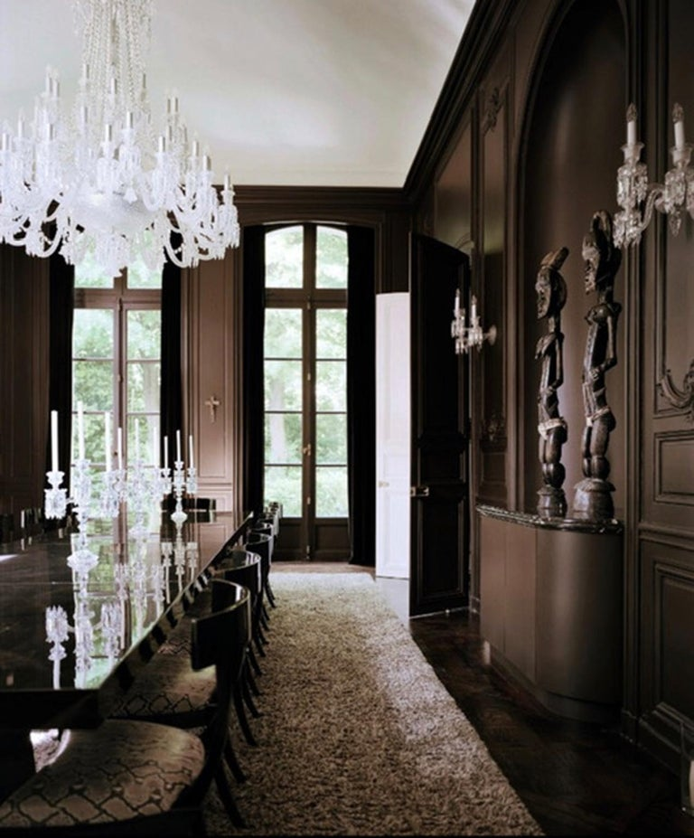 Baccarat Wall Sconce Clear Crystal For Sale 2