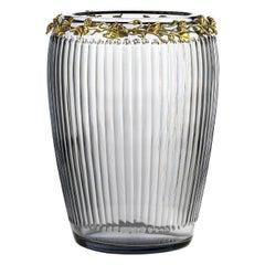 Bacco Extra-Large Gray Vase