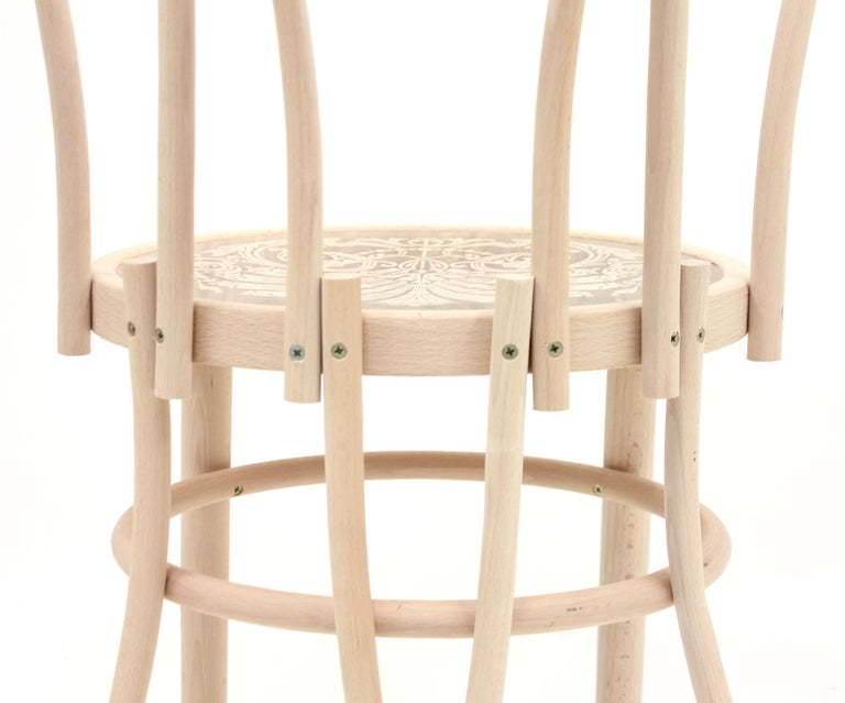 Back of the Chairs by Martino Gamper for the Conran Shop/Thonet, 2008 For Sale 5