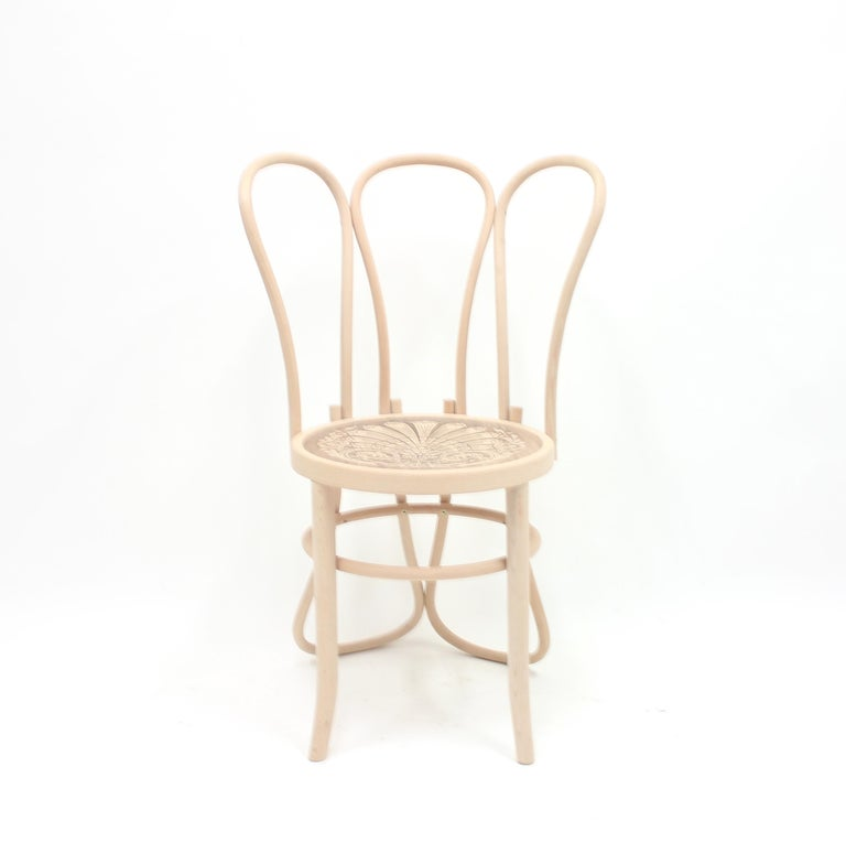 This chair, along with two other models, was commissioned by The Conran Shop in 2008 to the designer Martino Gamper for The London Design Festival and for the shops