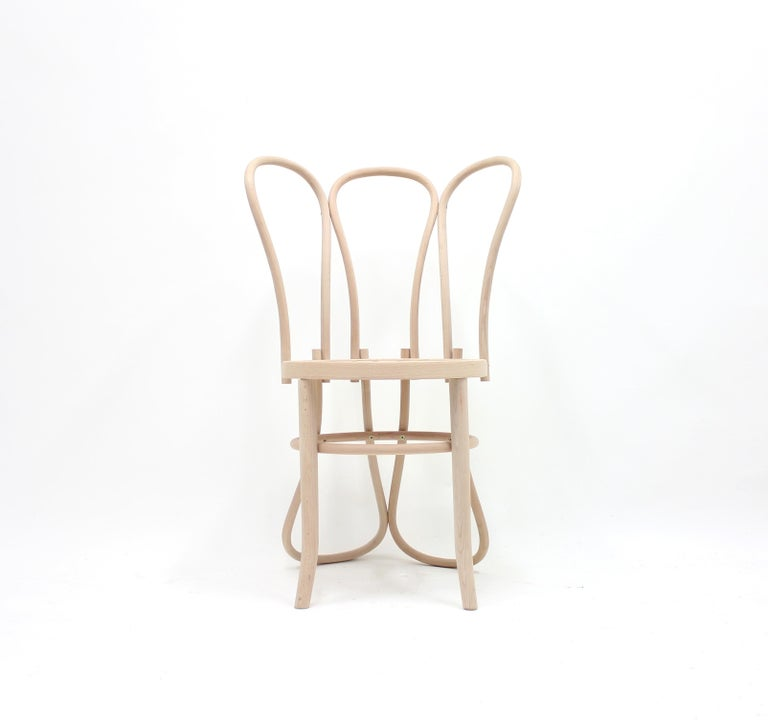 Futurist Back of the Chairs by Martino Gamper for the Conran Shop/Thonet, 2008 For Sale