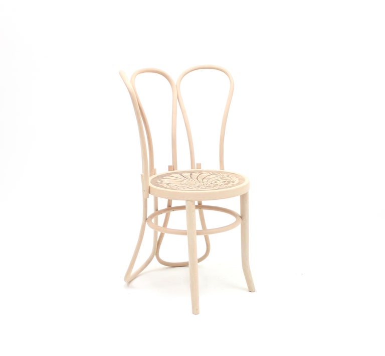 Croatian Back of the Chairs by Martino Gamper for the Conran Shop/Thonet, 2008 For Sale