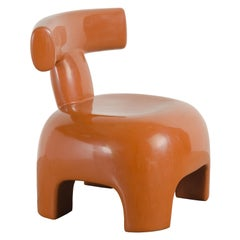 Back Rest Chair, Mila Lacquer by Robert Kuo, Handmade, Limited Edition