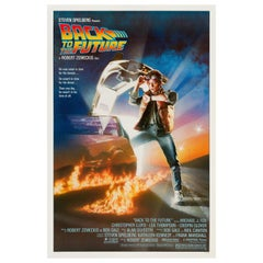 """""""Back to the Future"""" Original Vintage US One Sheet Movie Poster, 1985"""