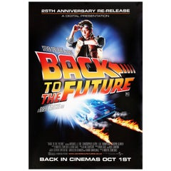 """""""Back to the Future"""" R2010 British One Sheet Film Poster"""