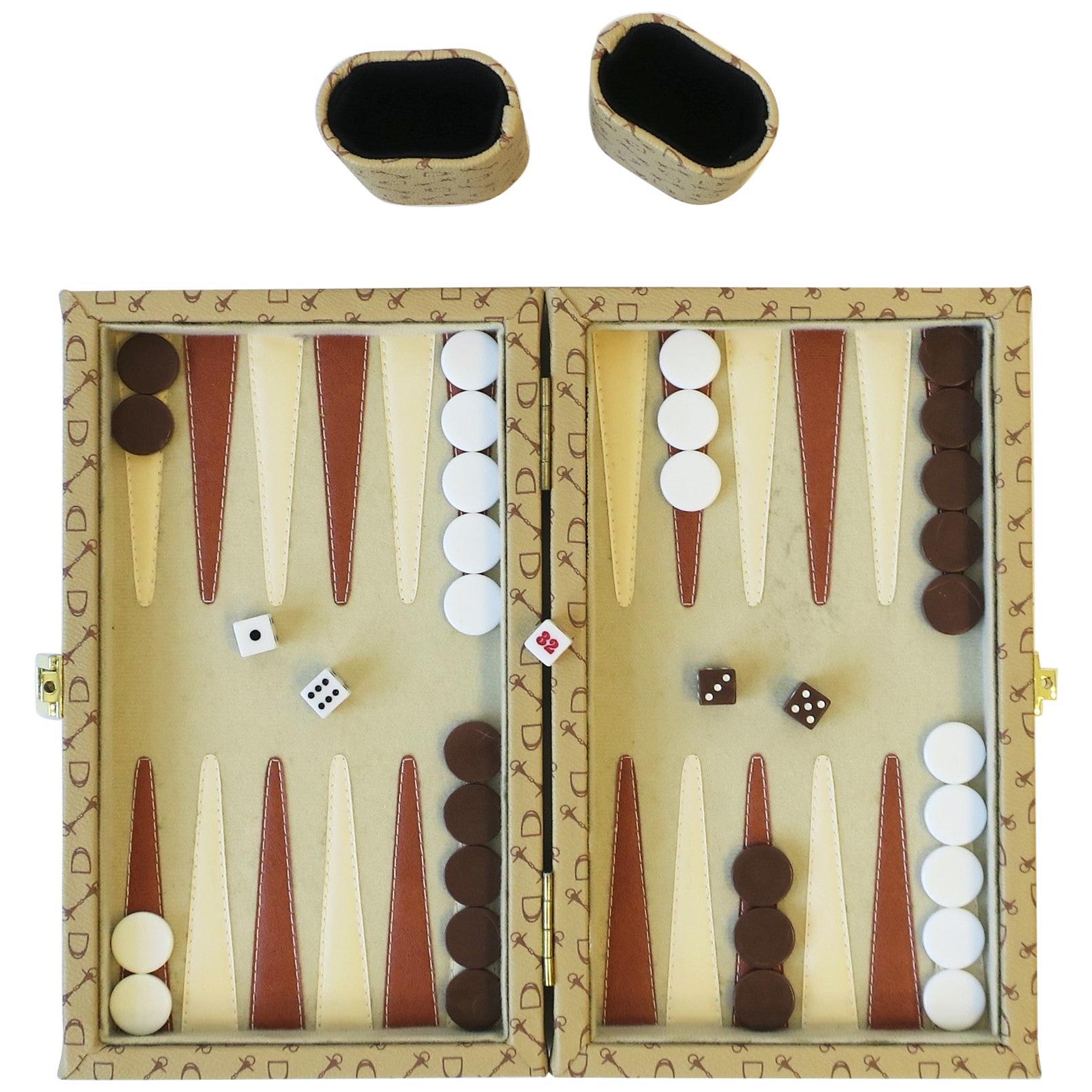 Backgammon Game Set Travel Size