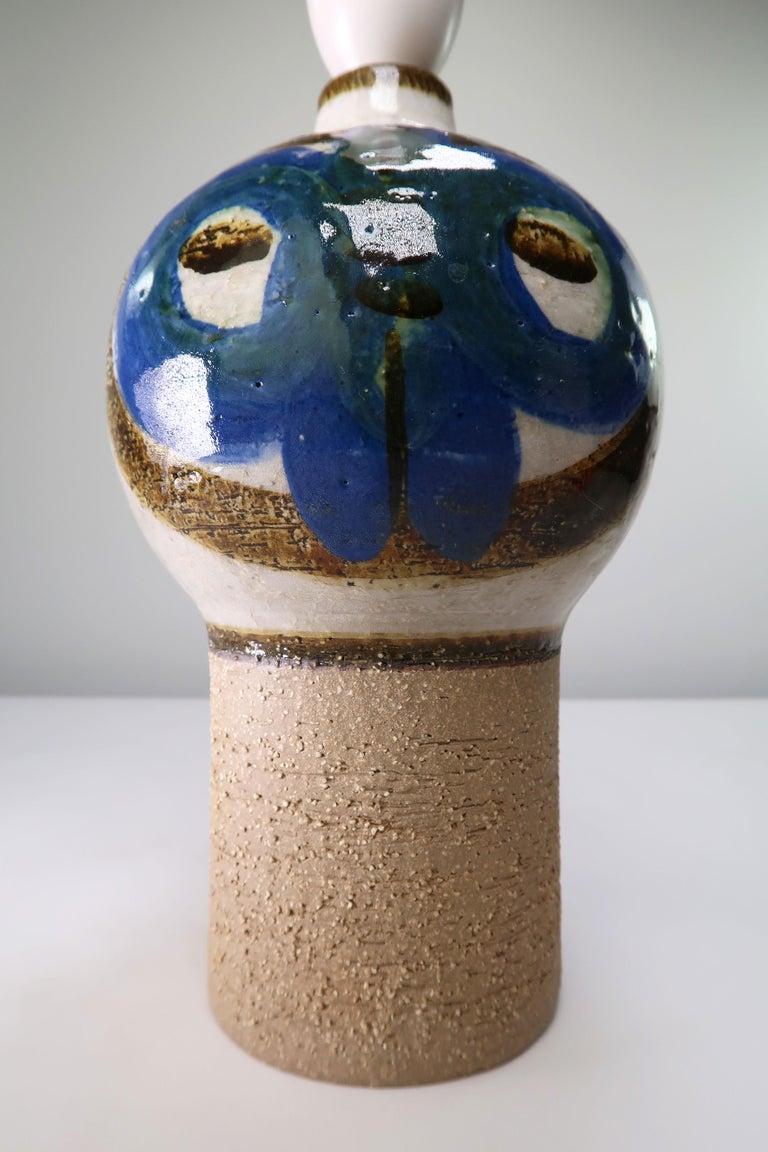 Backhausen & Brandborg Danish Modern Noomi Table Lamp by Søholm, 1969 In Good Condition For Sale In Frederiksberg, DK