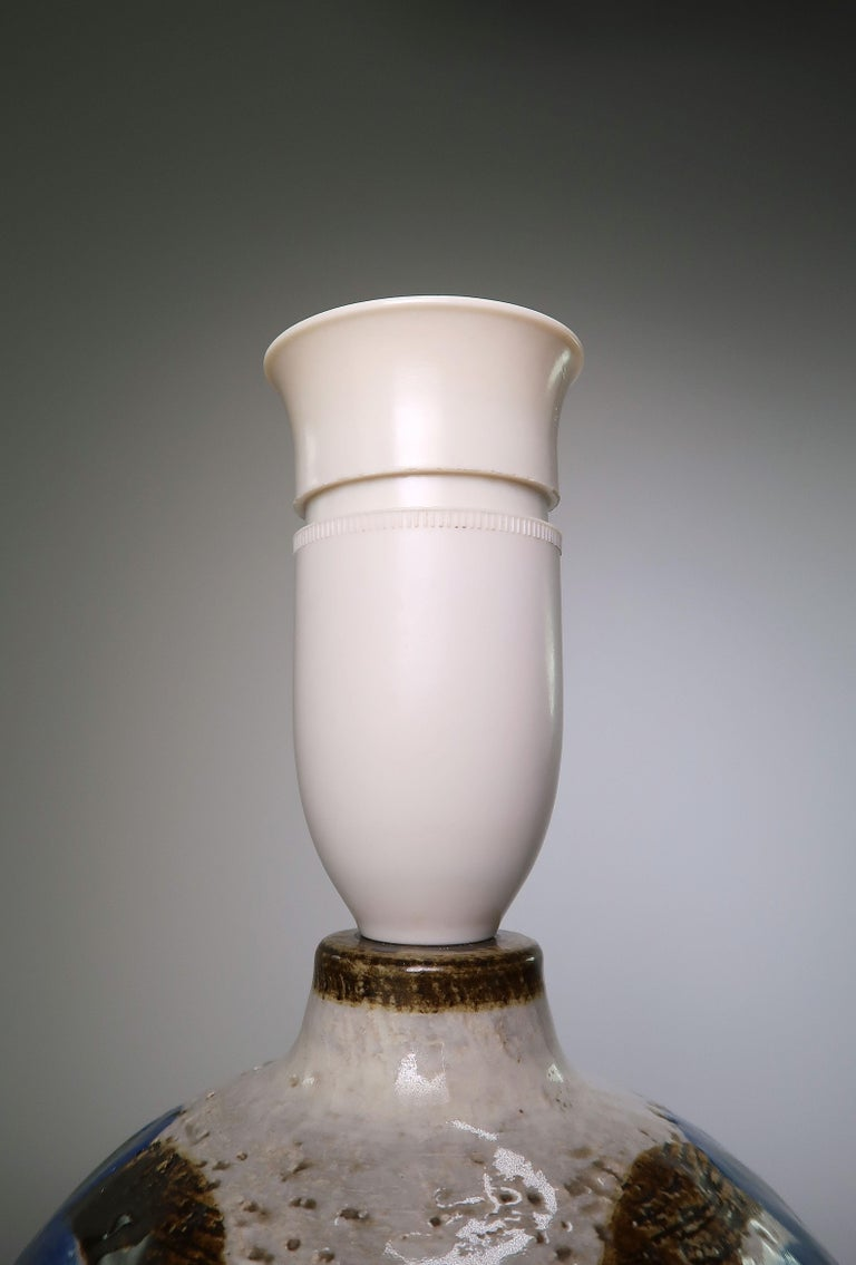Backhausen & Brandborg Danish Modern Noomi Table Lamp by Søholm, 1969 For Sale 1