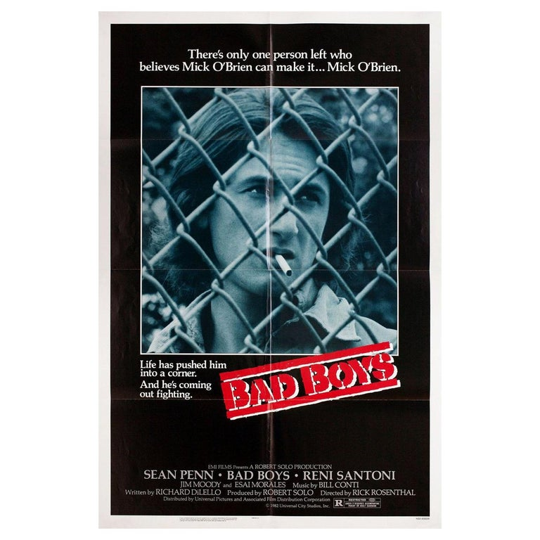 """""""Bad Boys"""" 1983 U.S. One Sheet Film Poster For Sale"""