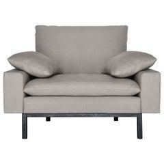 Bad Gray Armchair by Vanessa Tambelli
