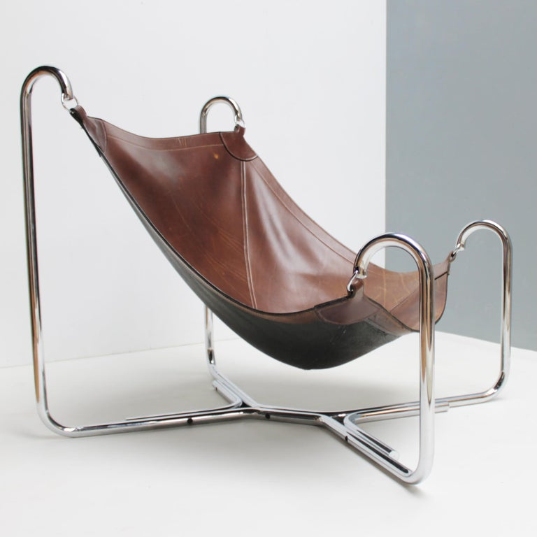 Baffo Lounge Chair by Didone and Pareschi for Busnelli For Sale 3